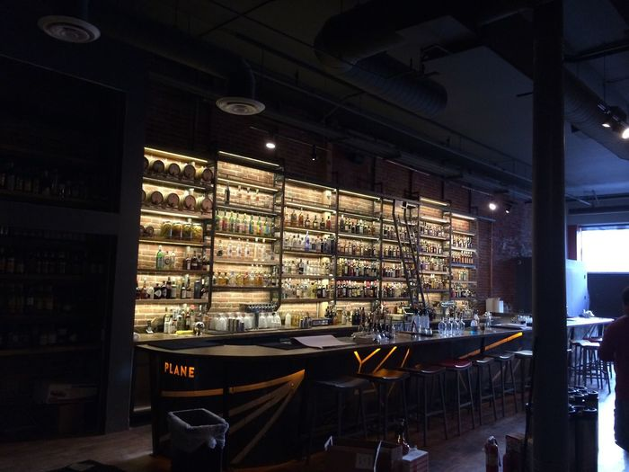 My buddy Dan's new bar downtown SJ, Paper Plane. Next to Original Gravity Pub, soft opening next wednesday come check it out Paperplanebar Cocktaillounge Sanjosé