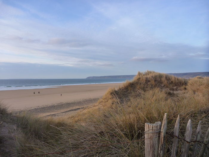 Beach Beauty In Nature Calm Coastline Dunes Nature Non-urban Scene Tranquil Scene Tranquility Winter Sun Winter Sky Sea Outdoors Clouds And Sky Sunrise Horizon Over Water Holiday Normandy Normandie, France