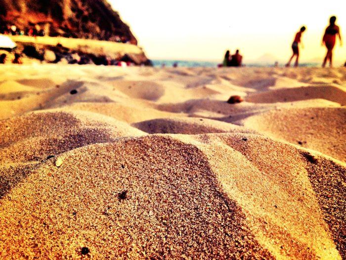 Areia Nature Beach Rio De Janeiro Praia Do Leme The Great Outdoors - 2016 EyeEm Awards