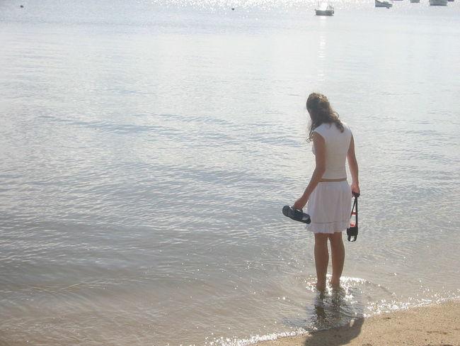 Florianópolis Brasil Girl Water Summer Beach