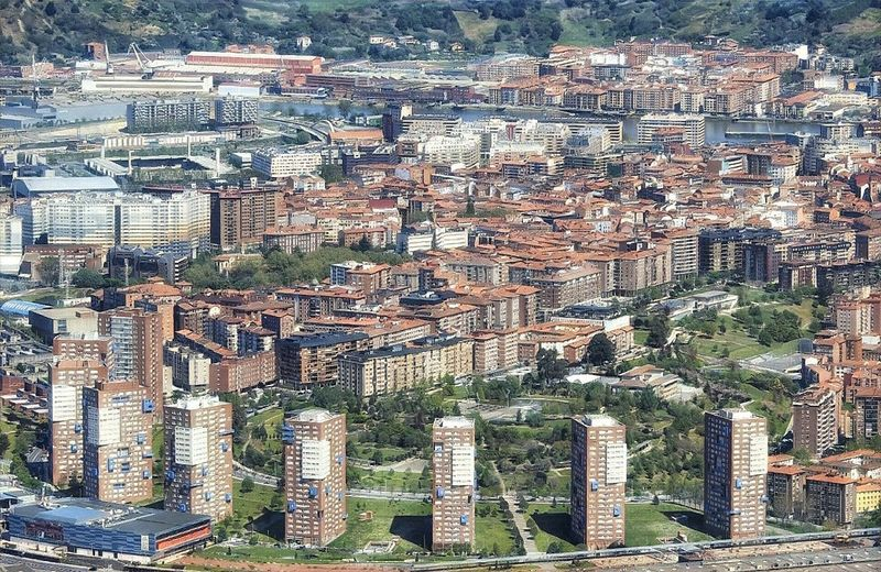 Barakaldo Euskalherria Bizkaia Building Exterior Built Structure Architecture Full Frame City Building Backgrounds