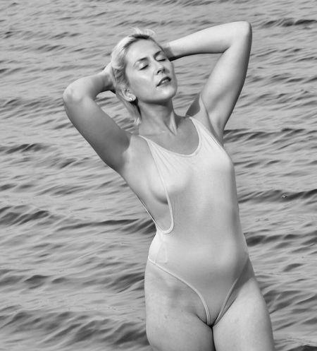 Erica B Young Adult Leisure Activity One Person Bikini Swimwear Beauty Holiday