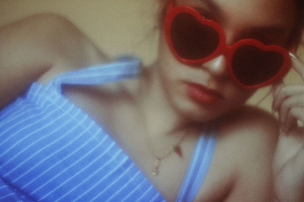 Lolita's Life Fashion MOVIE Makeup Retro Summertime Adult Blue Close-up Day Fashion Photography Girl Human Body Part Human Hand Indoors  One Person People Real People Retail  Retro Styled Summer Sunglasses Vintage Women Young Adult Young Women