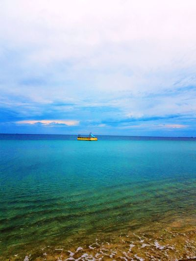 Beaches forever!! Travel Wanderlust Photography Nature Love Colors Australia Water Nautical Vessel Sea Beach Sky Horizon Over Water Cloud - Sky Countryside Calm Ocean Lakeside Cloud Rippled Sailing Boat Tranquil Scene Sandy Beach Rays Water Vehicle Seascape Archipelago Headland Moored Mast Outrigger