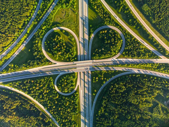Intersection of a german freeway