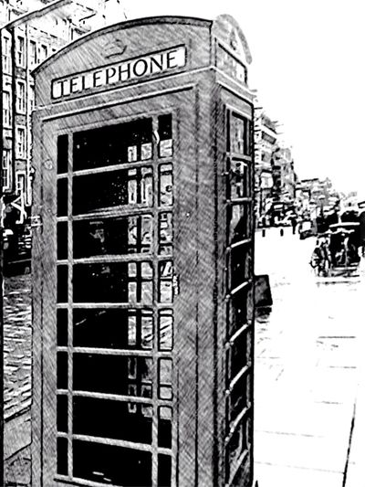 Telephone Box in Dublin Dublin Street Photography Dublin Text Communication Telephone Booth Outdoors Architecture Building Exterior Built Structure