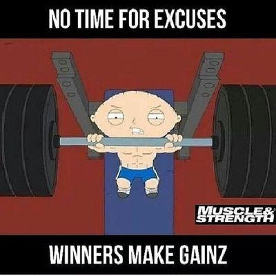Stewie WinnerMakeGainz True Gohard MYChick is a beast GyMTwice Cardio Squats DatAss ;)