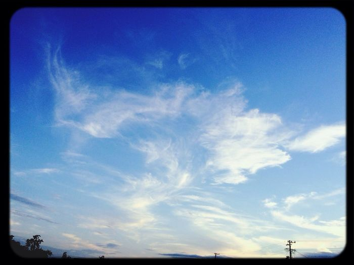 Hello World Clouds And Sky Broken Heart ふられたw