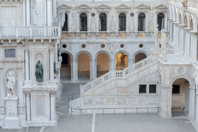A Day in Venice Arch Architecture Building Exterior Day Doges Palace History No People Outdoors Travel Destinations Travel Photography