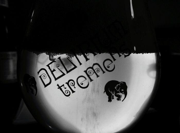 Day 191 - Delirium Berlin Blackandwhite Beer Delirium Tremens 365project 365florianmski Day191