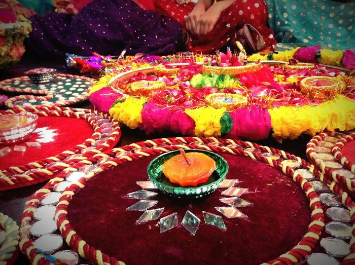 Traditional Arrangement Colorful Multi Colored Culture - Pakistani Wedding 🇵🇰😍 Pakistani Photography Vibrant Color 💛