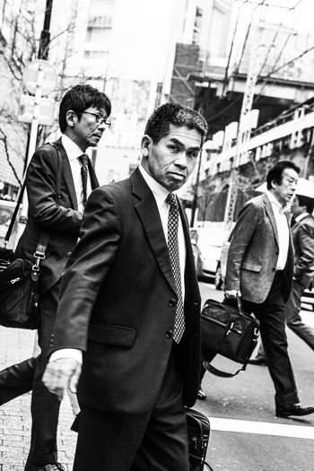 City Tokyo Battle Of The Cities People And Places Lifestyles Street Casual Clothing Monochrome Photography