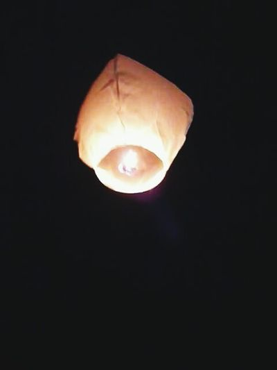 Lantern Say Goodbye Paper Lantern Sky Lantern Night Up Up And Away Set Alight Fire Black In The Sky Outdoors Outside Saying Goodbye Flame Light