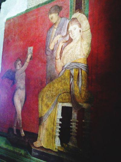 Italy Pompeii  - Pompei - Italy Villa Dei Misteri