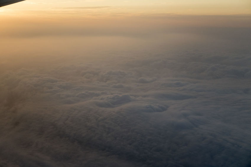 Aerial View Backgrounds Beauty In Nature Cloud - Sky Cloudscape Day Environment Fog High Angle View Idyllic Nature No People Non-urban Scene Outdoors Scenics - Nature Sky Softness Sunset Tranquil Scene Tranquility