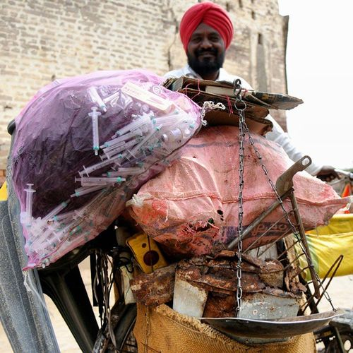 InstawithHT Hindustan_times Punj Aab Junkdealer in Punjab Village Travel_diary Daily Life Photojournalism reality of punjab