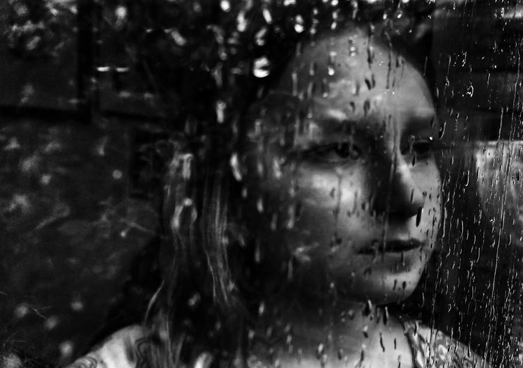 Waiting for the rain to stop Black And White Shootermag Youth Of Today Rain