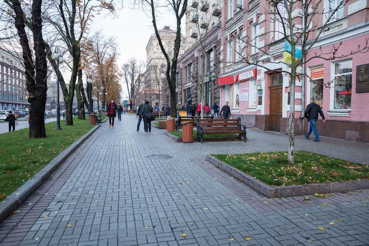 City, Kiev,