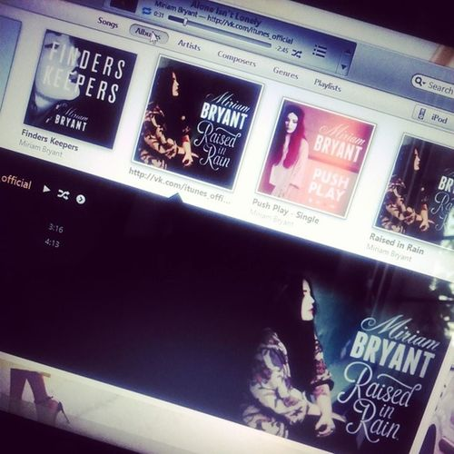 Recently getting obsessed with her.. @miriambryant Bestofmiriambryant Bestalbum Miriambryant Itunes ipod instagood igers love