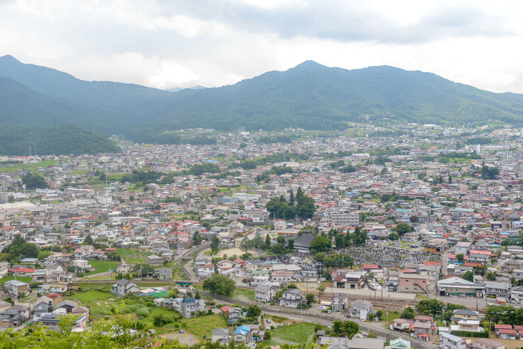 Ariel view of