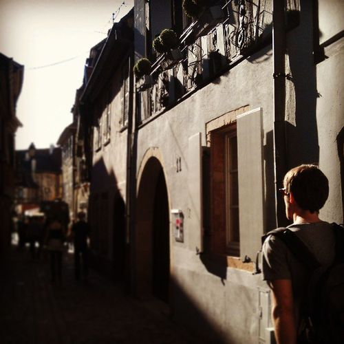 Follow the leader... In Colmar, France. Alsace Foodcoma Nomoreonionsplease