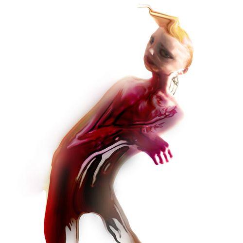 Tender RLY Abstract Modern Surrealism Trippy Freestyle Digital Art Graphic Art Artist Tender