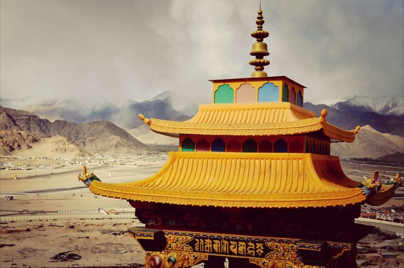 Monastery Ladakh Religion Spiritual Built Structure Cultures Buddism Place Of Worship Buddist Temple ... First Eyeem Photo