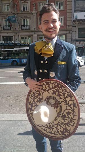 Traje Típico Charro Traditional Costume Charro Chapeau Sombrero Hat