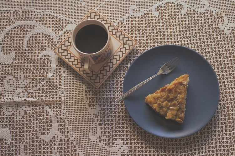 Apple pie and coffee