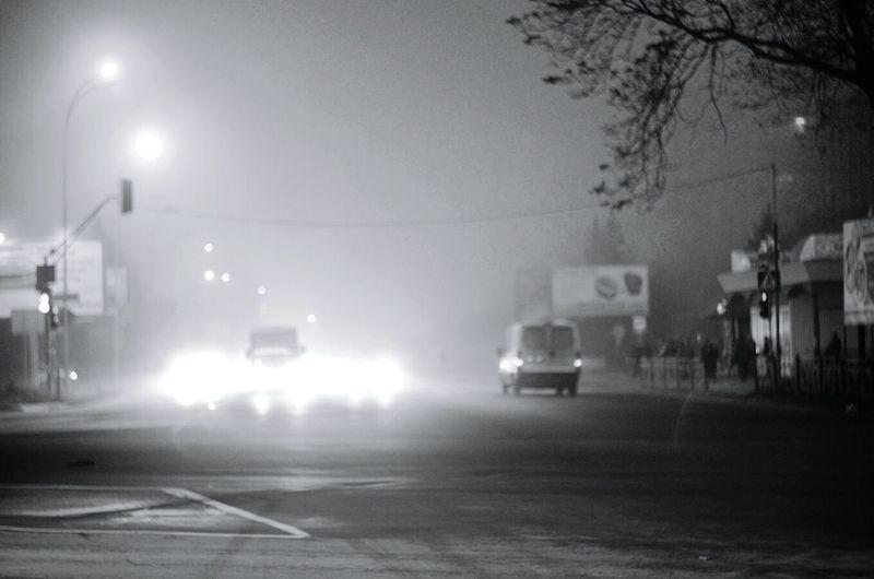 Light Streetphotography Morning Fog Blackandwhite Interesting Motion