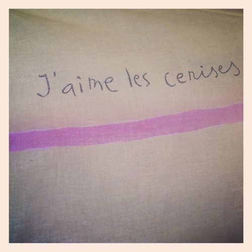 Cerises Like Couverture Nez lit pink yellow fois instavieux instapicture instacute