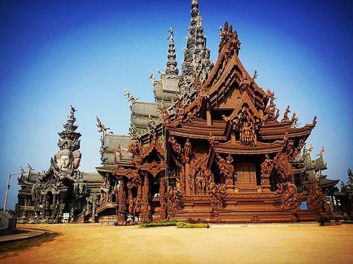 Thesanctuaryoftruth Pattaya Реставрация полным ходом)