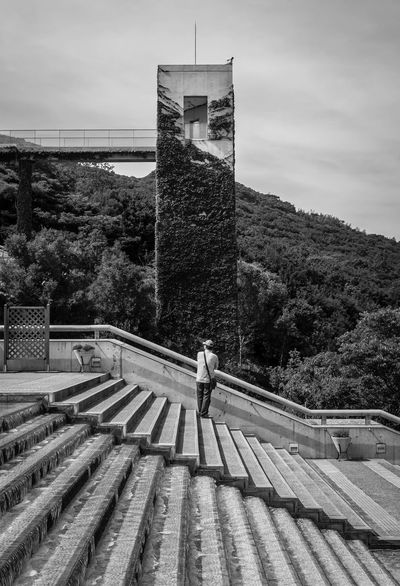 Blackandwhite Streetphotography on Awaji Island in Japan ; the Architecture is famous--by Tadao Ando Shades Of Grey Contrast