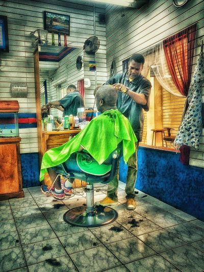 Barber Barber Shop Barber Chair Fine Art Photography People Photography Check This Out Taking Photos Men Style A Trek Into The Capital. Enjoying Life Barbados 2016