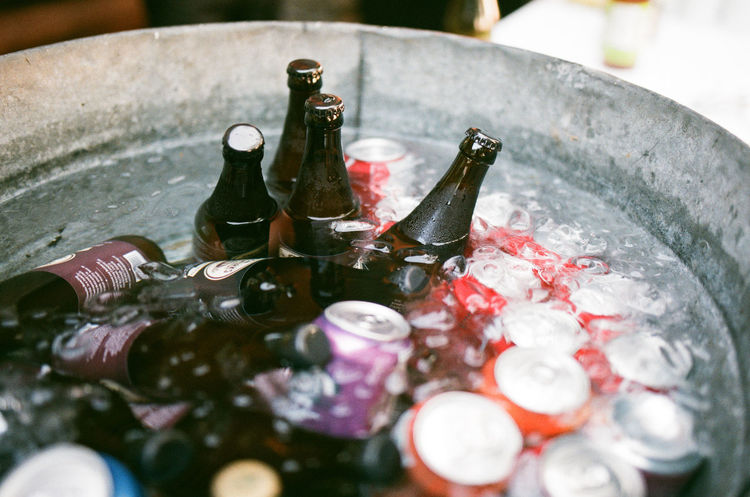 35mm 35mm Film Analog Analogue Photography Bottle Close-up Day Drink Film Freshness Ice Bucket Indoors  Live For The Story No People Summer