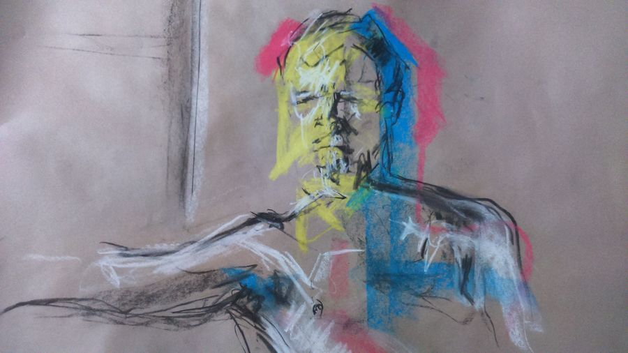 Lifedrawing Drawing From Life Art Abstract Light And Shadow Chalk Drawing Colour Portrait Portrait Of A Man  Getting Inspired Alternative Art, Drawing, Creativity Check This Out Draw My Drawing MyArt My Art Sketch ArtWork Myartwork One Man Only Body Curves  Manakin Hello World