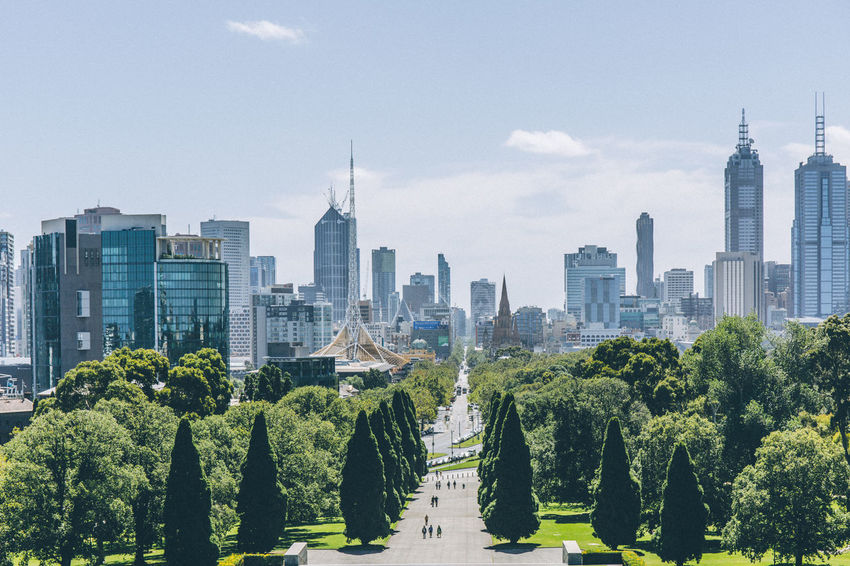 Australia If Trees Could Speak Architecture Building Exterior Built Structure City Cityscape Day Growth Melbourne Modern Nature No People Outdoors Park - Man Made Space Sky Skyscraper Tall - High Tower Travel Destinations Tree Urban Skyline