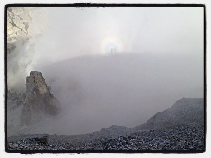 Skyporn Mountains Nature Rainbow