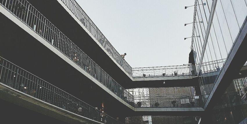 Saamziegil Mall Insadong Seoul South Korea Architecture Travel Photography Black & White
