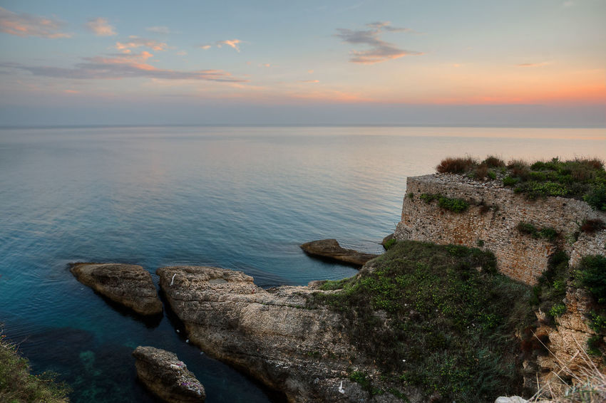 Montenegro, Sea Nature Beauty In Nature Tranquility Scenics Horizon Over Water Outdoors Sunset No People Beach Water Day