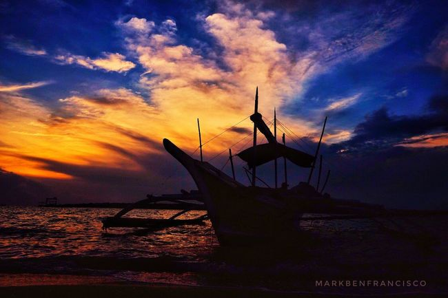 Sunset Cloud - Sky Beauty In Nature Silhouette Seascape Outdoors Whenincebu Cebu Philippines Lakwatseroincebu