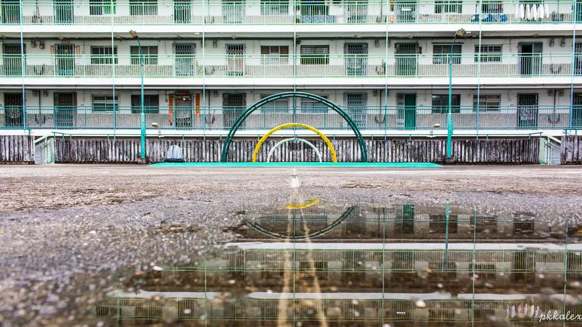 Architecture Estate City Water Tranquility HongKong Reflection Imperfection