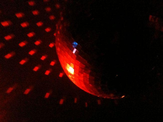 Disco ball at 128 Houston Street NYC By http://adrianakaegi.com
