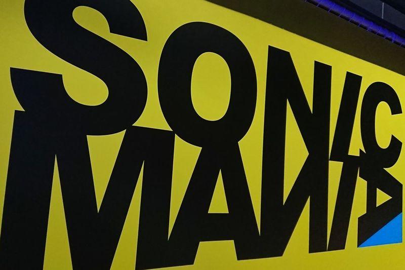 ソニックマニア SONIC MANIA Music Festival Text Close-up Signboard Hello World Enjoying Life Taking Photos 幕張メッセ 夏フェス 昨夜幕張メッセに行ってソニックマニア観てきました🎵帰りの電車は朝5時の電車でした(笑)