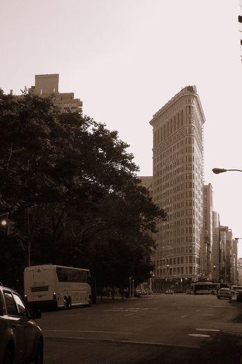 5th Ave Architecture Building Flatiron Building Manhattan New York City Skyscraper USA Wolkenkratzer