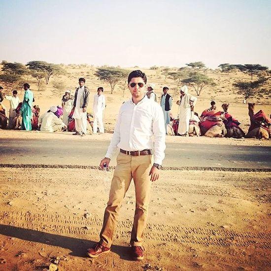Camel Safari Sam Sand Dunes Jaisalmer Rajasthan Diaries India