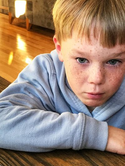 Sad faced boy Cranky Gloomy Grumpy Feeling Sad Sadness Boy Allergy Eyes Young Boy Red Eyes Crying Eye Pout Face Day Close-up People One Boy Only Lifestyles Blond Hair Looking At Camera Portrait Real People Indoors  One Person Childhood Boy With Freckles Sad Face Sad Child Emotions Emotional Mad Face Sad Boy