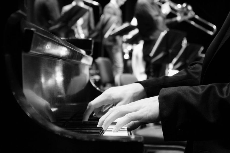 Some keys at a jazz gig Music Real People Arts Culture And Entertainment Musical Instrument Musical Equipment Piano Musician
