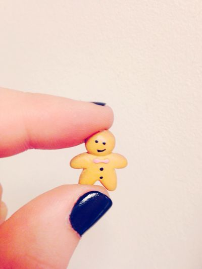 My little friend ? Friend Little Today Picoftheday Slovakia Love Beautiful Crazy Gingerbreadman Gingy