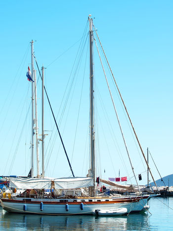 City Clear Sky Day Idyllic Kefalonia, Greece Mast Mode Of Transport Nature Nautical Vessel No People Outdoors Passenger Ship Sailboat Sailing Sailing Ship Sea Ship Sky Tall Ship Transportation Travel Travel Destinations Water Waterfront